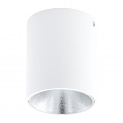 Eglo POLASSO 94504 Настенно-потолочные светильникиОдиночные<br>Светильники-споты – это оригинальные изделия с современным дизайном. Они позволяют не ограничивать свою фантазию при выборе освещения для интерьера. Такие модели обеспечивают достаточно качественный свет. Благодаря компактным размерам Вы можете использовать несколько спотов для одного помещения.  Интернет-магазин «Светодом» предлагает необычный светильник-спот Eglo 94504 по привлекательной цене. Эта модель станет отличным дополнением к люстре, выполненной в том же стиле. Перед оформлением заказа изучите характеристики изделия.  Купить светильник-спот Eglo 94504 в нашем онлайн-магазине Вы можете либо с помощью формы на сайте, либо по указанным выше телефонам. Обратите внимание, что у нас склады не только в Москве и Екатеринбурге, но и других городах России.<br><br>Цветовая t, К: 3000 (теплый белый)<br>Тип цоколя: LED<br>Диаметр, мм мм: 100<br>Размеры основания, мм: 0<br>Высота, мм: 120<br>Цвет арматуры: белый<br>Общая мощность, Вт: 1X3,3W