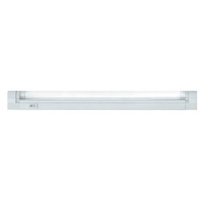 Светильник люминесцентный Navigator 94 514С лампой T5<br>Люминесцентные компактные светильники NEL-B2 предназначены для дополнительного освещения в жилых, офисных и коммерческих помещениях. Удобны для подсветки встроенных шкафов и гардеробных комнат, кухонных гарнитуров и зеркал в прихожих, а также витрин и прилавков в магазинах.<br>  Корпус светильника NEL-B2 изготовлен из поликарбоната, выполнен в белом цвете. Рассеиватель изготовлен из прозрачного рифленого акрила (полиметилметакрилат). Светильник предназначен для работы от сетевого напряжения 220 – 240 В с частотой 50/60 Гц.<br>  Материалы, из которых изготовлен светильник, не поддерживают горение.Диапазон рабочих температур окружающей среды светильника от 0°С до 45°С.<br>  Светильники серии NEL-B2 с закрытой лампой (с рассеивателем), встроенным ЭПРА и кнопкой включения/выключения на корпусе, комплектуются:• лампой люминесцентной Т5 (индекс цветопередачи Ra gt; 82) • сетевым шнуром с вилкой • соединительным кабелем, с помощью которого можно подключить в единую цепь до 10 светильников • крепежом для присоединения светильника к вертикальной или горизонтальной поверхности.<br><br>S освещ. до, м2: 1 - 2<br>Цветовая t, К: 4200<br>Тип лампы: люмин-я T5<br>Тип цоколя: G5<br>Количество ламп: 1<br>Ширина, мм: 22<br>MAX мощность ламп, Вт: 6<br>Длина, мм: 266/268<br>Высота, мм: 43<br>Цвет арматуры: белый