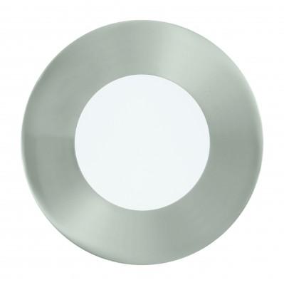 Eglo FUEVA 1 94518 Встраиваемые и накладные светильникиКруглые LED<br>Встраиваемые светильники – популярное осветительное оборудование, которое можно использовать в качестве основного источника или в дополнение к люстре. Они позволяют создать нужную атмосферу атмосферу и привнести в интерьер уют и комфорт.   Интернет-магазин «Светодом» предлагает стильный встраиваемый светильник Eglo 94518. Данная модель достаточно универсальна, поэтому подойдет практически под любой интерьер. Перед покупкой не забудьте ознакомиться с техническими параметрами, чтобы узнать тип цоколя, площадь освещения и другие важные характеристики.   Приобрести встраиваемый светильник Eglo 94518 в нашем онлайн-магазине Вы можете либо с помощью «Корзины», либо по контактным номерам. Мы развозим заказы по Москве, Екатеринбургу и остальным российским городам.<br><br>Цветовая t, К: 3000 (теплый белый)<br>Тип цоколя: LED<br>Диаметр, мм мм: 85<br>Размеры основания, мм: 0<br>Диаметр врезного отверстия, мм: 25<br>Цвет арматуры: серебристый<br>Общая мощность, Вт: 2,7W