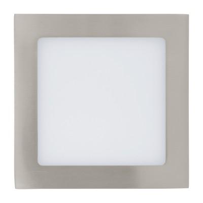 Eglo FUEVA 1 94519 Встраиваемые и накладные светильникиКвадратные LED<br>Встраиваемые светильники – популярное осветительное оборудование, которое можно использовать в качестве основного источника или в дополнение к люстре. Они позволяют создать нужную атмосферу атмосферу и привнести в интерьер уют и комфорт.   Интернет-магазин «Светодом» предлагает стильный встраиваемый светильник Eglo 94519. Данная модель достаточно универсальна, поэтому подойдет практически под любой интерьер. Перед покупкой не забудьте ознакомиться с техническими параметрами, чтобы узнать тип цоколя, площадь освещения и другие важные характеристики.   Приобрести встраиваемый светильник Eglo 94519 в нашем онлайн-магазине Вы можете либо с помощью «Корзины», либо по контактным номерам. Мы развозим заказы по Москве, Екатеринбургу и остальным российским городам.<br><br>Цветовая t, К: 3000 (теплый белый)<br>Тип лампы: LED<br>Тип цоколя: LED<br>Ширина, мм: 85<br>Размеры основания, мм: 0<br>Диаметр врезного отверстия, мм: 25<br>Длина, мм: 85<br>Цвет арматуры: серебристый<br>Общая мощность, Вт: 2,7W