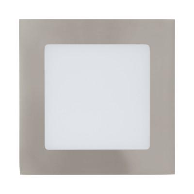 Eglo FUEVA 1 94522 Встраиваемые и накладные светильникиКвадратные LED<br>Встраиваемые светильники – популярное осветительное оборудование, которое можно использовать в качестве основного источника или в дополнение к люстре. Они позволяют создать нужную атмосферу атмосферу и привнести в интерьер уют и комфорт.   Интернет-магазин «Светодом» предлагает стильный встраиваемый светильник Eglo 94522. Данная модель достаточно универсальна, поэтому подойдет практически под любой интерьер. Перед покупкой не забудьте ознакомиться с техническими параметрами, чтобы узнать тип цоколя, площадь освещения и другие важные характеристики.   Приобрести встраиваемый светильник Eglo 94522 в нашем онлайн-магазине Вы можете либо с помощью «Корзины», либо по контактным номерам. Мы развозим заказы по Москве, Екатеринбургу и остальным российским городам.<br><br>Цветовая t, К: 3000 (теплый белый)<br>Тип лампы: LED<br>Тип цоколя: LED<br>Ширина, мм: 120<br>Размеры основания, мм: 0<br>Диаметр врезного отверстия, мм: 25<br>Длина, мм: 120<br>Цвет арматуры: серебристый<br>Общая мощность, Вт: 5,5W
