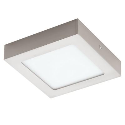 Eglo FUEVA 1 94524 Встраиваемые и накладные светильникиКвадратные<br>Настенно-потолочные светильники – это универсальные осветительные варианты, которые подходят для вертикального и горизонтального монтажа. В интернет-магазине «Светодом» Вы можете приобрести подобные модели по выгодной стоимости. В нашем каталоге представлены как бюджетные варианты, так и эксклюзивные изделия от производителей, которые уже давно заслужили доверие дизайнеров и простых покупателей.  Настенно-потолочный светильник Eglo 94524 станет прекрасным дополнением к основному освещению. Благодаря качественному исполнению и применению современных технологий при производстве эта модель будет радовать Вас своим привлекательным внешним видом долгое время. Приобрести настенно-потолочный светильник Eglo 94524 можно, находясь в любой точке России.<br><br>S освещ. до, м2: 4<br>Цветовая t, К: 3000 (теплый белый)<br>Тип лампы: LED<br>Тип цоколя: LED<br>Ширина, мм: 170<br>Размеры основания, мм: 0<br>Длина, мм: 170<br>Высота, мм: 35<br>Цвет арматуры: серебристый<br>Общая мощность, Вт: 10,95W