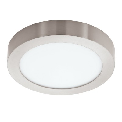 Eglo FUEVA 1 94525 Встраиваемые и накладные светильникиКруглые<br>Настенно-потолочные светильники – это универсальные осветительные варианты, которые подходят для вертикального и горизонтального монтажа. В интернет-магазине «Светодом» Вы можете приобрести подобные модели по выгодной стоимости. В нашем каталоге представлены как бюджетные варианты, так и эксклюзивные изделия от производителей, которые уже давно заслужили доверие дизайнеров и простых покупателей.  Настенно-потолочный светильник Eglo 94525 станет прекрасным дополнением к основному освещению. Благодаря качественному исполнению и применению современных технологий при производстве эта модель будет радовать Вас своим привлекательным внешним видом долгое время. Приобрести настенно-потолочный светильник Eglo 94525 можно, находясь в любой точке России.<br><br>S освещ. до, м2: 7<br>Цветовая t, К: 3000 (теплый белый)<br>Тип лампы: LED<br>Тип цоколя: LED<br>Количество ламп: 1<br>MAX мощность ламп, Вт: 16,47<br>Диаметр, мм мм: 225<br>Размеры основания, мм: 0<br>Высота, мм: 35<br>Цвет арматуры: серебристый<br>Общая мощность, Вт: 16,47W