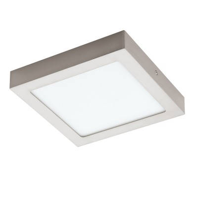 Eglo FUEVA 1 94526 Встраиваемые и накладные светильникиКвадратные<br>Настенно-потолочные светильники – это универсальные осветительные варианты, которые подходят для вертикального и горизонтального монтажа. В интернет-магазине «Светодом» Вы можете приобрести подобные модели по выгодной стоимости. В нашем каталоге представлены как бюджетные варианты, так и эксклюзивные изделия от производителей, которые уже давно заслужили доверие дизайнеров и простых покупателей.  Настенно-потолочный светильник Eglo 94526 станет прекрасным дополнением к основному освещению. Благодаря качественному исполнению и применению современных технологий при производстве эта модель будет радовать Вас своим привлекательным внешним видом долгое время. Приобрести настенно-потолочный светильник Eglo 94526 можно, находясь в любой точке России.<br><br>S освещ. до, м2: 6<br>Цветовая t, К: 3000 (теплый белый)<br>Тип лампы: LED<br>Тип цоколя: LED<br>Ширина, мм: 225<br>Размеры основания, мм: 0<br>Длина, мм: 225<br>Высота, мм: 35<br>Цвет арматуры: серебристый<br>Общая мощность, Вт: 16,47W