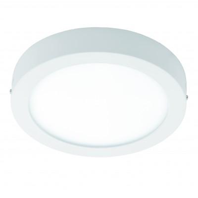 Eglo FUEVA 1 94535 Настенно-потолочный светильникКруглые<br>Настенно-потолочные светильники – это универсальные осветительные варианты, которые подходят для вертикального и горизонтального монтажа. В интернет-магазине «Светодом» Вы можете приобрести подобные модели по выгодной стоимости. В нашем каталоге представлены как бюджетные варианты, так и эксклюзивные изделия от производителей, которые уже давно заслужили доверие дизайнеров и простых покупателей.  Настенно-потолочный светильник Eglo 94535 станет прекрасным дополнением к основному освещению. Благодаря качественному исполнению и применению современных технологий при производстве эта модель будет радовать Вас своим привлекательным внешним видом долгое время. Приобрести настенно-потолочный светильник Eglo 94535 можно, находясь в любой точке России.<br><br>S освещ. до, м2: 9<br>Цветовая t, К: 3000 (теплый белый)<br>Тип лампы: LED<br>Тип цоколя: LED<br>Цвет арматуры: белый<br>Количество ламп: 1<br>Диаметр, мм мм: 300<br>Размеры основания, мм: 0<br>Высота, мм: 40<br>MAX мощность ламп, Вт: 22<br>Общая мощность, Вт: 22W