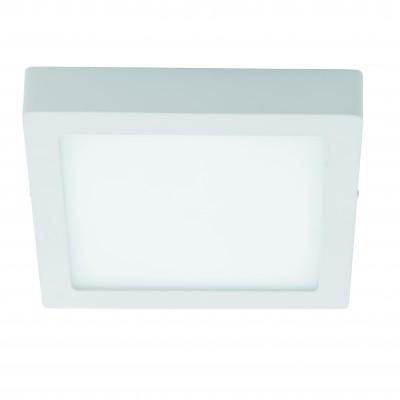 Eglo FUEVA 1 94537 Настенно-потолочные светильникиКвадратные<br>Настенно-потолочные светильники – это универсальные осветительные варианты, которые подходят для вертикального и горизонтального монтажа. В интернет-магазине «Светодом» Вы можете приобрести подобные модели по выгодной стоимости. В нашем каталоге представлены как бюджетные варианты, так и эксклюзивные изделия от производителей, которые уже давно заслужили доверие дизайнеров и простых покупателей.  Настенно-потолочный светильник Eglo 94537 станет прекрасным дополнением к основному освещению. Благодаря качественному исполнению и применению современных технологий при производстве эта модель будет радовать Вас своим привлекательным внешним видом долгое время. Приобрести настенно-потолочный светильник Eglo 94537 можно, находясь в любой точке России.<br><br>S освещ. до, м2: 9<br>Цветовая t, К: 3000 (теплый белый)<br>Тип лампы: LED<br>Тип цоколя: LED<br>Ширина, мм: 300<br>Размеры основания, мм: 0<br>Длина, мм: 300<br>Высота, мм: 40<br>Цвет арматуры: белый<br>Общая мощность, Вт: 22W