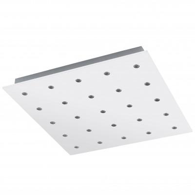 Eglo VEZENO 94566 Настенно-потолочные светильникиКвадратные<br>Настенно-потолочные светильники – это универсальные осветительные варианты, которые подходят для вертикального и горизонтального монтажа. В интернет-магазине «Светодом» Вы можете приобрести подобные модели по выгодной стоимости. В нашем каталоге представлены как бюджетные варианты, так и эксклюзивные изделия от производителей, которые уже давно заслужили доверие дизайнеров и простых покупателей.  Настенно-потолочный светильник Eglo 94566 станет прекрасным дополнением к основному освещению. Благодаря качественному исполнению и применению современных технологий при производстве эта модель будет радовать Вас своим привлекательным внешним видом долгое время. Приобрести настенно-потолочный светильник Eglo 94566 можно, находясь в любой точке России.<br><br>S освещ. до, м2: 11<br>Цветовая t, К: 3000 (теплый белый)<br>Тип цоколя: LED<br>Цвет арматуры: белый<br>Количество ламп: 25<br>Ширина, мм: 470<br>Размеры основания, мм: 0<br>Длина, мм: 470<br>Высота, мм: 50<br>MAX мощность ламп, Вт: 1,1<br>Общая мощность, Вт: 25X1,1W