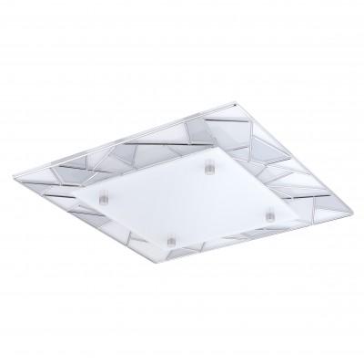 Настенно-потолочный светильник Eglo 94581 PANCENTO 1квадратные светильники<br>Настенно-потолочные светильники – это универсальные осветительные варианты, которые подходят для вертикального и горизонтального монтажа. В интернет-магазине «Светодом» Вы можете приобрести подобные модели по выгодной стоимости. В нашем каталоге представлены как бюджетные варианты, так и эксклюзивные изделия от производителей, которые уже давно заслужили доверие дизайнеров и простых покупателей. <br>Настенно-потолочный светильник Eglo 94581 станет прекрасным дополнением к основному освещению. Благодаря качественному исполнению и применению современных технологий при производстве эта модель будет радовать Вас своим привлекательным внешним видом долгое время. <br>Приобрести настенно-потолочный светильник Eglo 94581 можно, находясь в любой точке России.