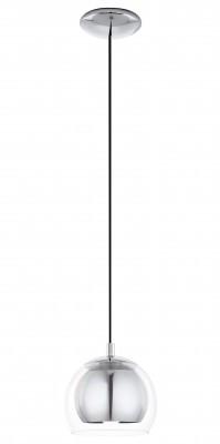 Eglo ROCAMAR 94592 Светильник подвеснойОдиночные<br>Подвесной светильник – это универсальный вариант, подходящий для любой комнаты. Сегодня производители предлагают огромный выбор таких моделей по самым разным ценам. В каталоге интернет-магазина «Светодом» мы собрали большое количество интересных и оригинальных светильников по выгодной стоимости. Вы можете приобрести их с доставкой в Москву, Екатеринбург и любой другой город России.  Подвесной светильник Eglo 94592 сразу же привлечет внимание Ваших гостей благодаря стильному исполнению. Благородный дизайн позволит использовать эту модель практически в любом интерьере. Она обеспечит достаточно света и при этом легко монтируется. Чтобы купить подвесной светильник Eglo 94592, воспользуйтесь формой на нашем сайте или позвоните менеджерам интернет-магазина.<br><br>Тип цоколя: E27<br>Диаметр, мм мм: 190<br>Размеры основания, мм: 0<br>Высота, мм: 1100<br>Оттенок (цвет): прозрачный<br>Цвет арматуры: серебристый<br>Общая мощность, Вт: 1X60W