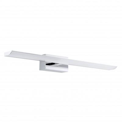 Eglo TABIANO 94613 светильник для ванной комнаты и зеркалДля картин<br><br><br>Цветовая t, К: 4000 (белый)<br>Тип лампы: LED<br>Тип цоколя: LED<br>Цвет арматуры: серебристый<br>Размеры основания, мм: 0<br>Длина, мм: 605<br>Расстояние от стены, мм: 130<br>Высота, мм: 70<br>Оттенок (цвет): белый<br>Общая мощность, Вт: 3X3,2W