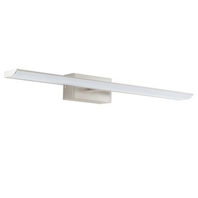 Eglo TABIANO 94615 светильник для ванной комнаты и зеркалХай-тек<br><br><br>Цветовая t, К: 4000<br>Тип лампы: LED<br>Тип цоколя: LED<br>Цвет арматуры: серый<br>Количество ламп: 3<br>Размеры основания, мм: 0<br>Длина, мм: 605<br>Расстояние от стены, мм: 130<br>Высота, мм: 70<br>Оттенок (цвет): белый<br>MAX мощность ламп, Вт: 3.2