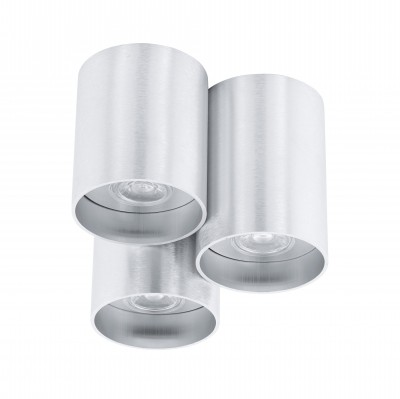 Eglo LASANA 94634 Настенно-потолочные светильникиТройные<br>Светильники-споты – это оригинальные изделия с современным дизайном. Они позволяют не ограничивать свою фантазию при выборе освещения для интерьера. Такие модели обеспечивают достаточно качественный свет. Благодаря компактным размерам Вы можете использовать несколько спотов для одного помещения.  Интернет-магазин «Светодом» предлагает необычный светильник-спот Eglo 94634 по привлекательной цене. Эта модель станет отличным дополнением к люстре, выполненной в том же стиле. Перед оформлением заказа изучите характеристики изделия.  Купить светильник-спот Eglo 94634 в нашем онлайн-магазине Вы можете либо с помощью формы на сайте, либо по указанным выше телефонам. Обратите внимание, что у нас склады не только в Москве и Екатеринбурге, но и других городах России.<br><br>S освещ. до, м2: 4<br>Тип цоколя: GU10<br>Цвет арматуры: серый<br>Диаметр, мм мм: 220<br>Размеры основания, мм: 0<br>Высота, мм: 160<br>Общая мощность, Вт: 3X3,3W
