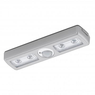 Eglo BALIOLA 94686 Кухонные светильникиДля кухни<br>Настенно-потолочные светильники – это универсальные осветительные варианты, которые подходят для вертикального и горизонтального монтажа. В интернет-магазине «Светодом» Вы можете приобрести подобные модели по выгодной стоимости. В нашем каталоге представлены как бюджетные варианты, так и эксклюзивные изделия от производителей, которые уже давно заслужили доверие дизайнеров и простых покупателей.  Настенно-потолочный светильник Eglo 94686 станет прекрасным дополнением к основному освещению. Благодаря качественному исполнению и применению современных технологий при производстве эта модель будет радовать Вас своим привлекательным внешним видом долгое время.  Приобрести настенно-потолочный светильник Eglo 94686 можно, находясь в любой точке России.<br><br>S освещ. до, м2: 1<br>Цветовая t, К: 3000 (теплый белый)<br>Тип цоколя: LED<br>Количество ламп: 4<br>MAX мощность ламп, Вт: 0,06<br>Размеры основания, мм: 0<br>Длина, мм: 180<br>Расстояние от стены, мм: 27<br>Высота, мм: 46<br>Цвет арматуры: серебристый<br>Общая мощность, Вт: 4LED
