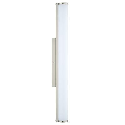 Eglo CALNOVA 94716 светильник для ванной комнаты и зеркалДлинные<br>Настенно-потолочные светильники – это универсальные осветительные варианты, которые подходят для вертикального и горизонтального монтажа. В интернет-магазине «Светодом» Вы можете приобрести подобные модели по выгодной стоимости. В нашем каталоге представлены как бюджетные варианты, так и эксклюзивные изделия от производителей, которые уже давно заслужили доверие дизайнеров и простых покупателей. <br>Настенно-потолочный светильник Eglo 94716 станет прекрасным дополнением к основному освещению. Благодаря качественному исполнению и применению современных технологий при производстве эта модель будет радовать Вас своим привлекательным внешним видом долгое время. <br>Приобрести настенно-потолочный светильник Eglo 94716 можно, находясь в любой точке России.<br><br>S освещ. до, м2: 6<br>Цветовая t, К: 4000<br>Тип лампы: LED<br>Тип цоколя: LED<br>Ширина, мм: 50<br>MAX мощность ламп, Вт: 16<br>Размеры основания, мм: 0<br>Длина, мм: 600<br>Расстояние от стены, мм: 85<br>Оттенок (цвет): белый<br>Цвет арматуры: серый