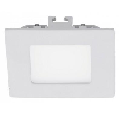 Eglo FUEVA 1 94733 Встраиваемые и накладные светильникиКвадратные LED<br>Встраиваемые светильники – популярное осветительное оборудование, которое можно использовать в качестве основного источника или в дополнение к люстре. Они позволяют создать нужную атмосферу атмосферу и привнести в интерьер уют и комфорт.   Интернет-магазин «Светодом» предлагает стильный встраиваемый светильник Eglo 94733. Данная модель достаточно универсальна, поэтому подойдет практически под любой интерьер. Перед покупкой не забудьте ознакомиться с техническими параметрами, чтобы узнать тип цоколя, площадь освещения и другие важные характеристики.   Приобрести встраиваемый светильник Eglo 94733 в нашем онлайн-магазине Вы можете либо с помощью «Корзины», либо по контактным номерам. Мы развозим заказы по Москве, Екатеринбургу и остальным российским городам.<br><br>Цветовая t, К: 3000 (теплый белый)<br>Тип цоколя: LED<br>Цвет арматуры: белый<br>Ширина, мм: 85<br>Размеры основания, мм: 0<br>Диаметр врезного отверстия, мм: 25<br>Длина, мм: 85<br>Общая мощность, Вт: 3X2,7W