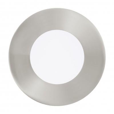 Eglo FUEVA 1 94734 Встраиваемые и накладные светильникиКруглые LED<br>Встраиваемые светильники – популярное осветительное оборудование, которое можно использовать в качестве основного источника или в дополнение к люстре. Они позволяют создать нужную атмосферу атмосферу и привнести в интерьер уют и комфорт.   Интернет-магазин «Светодом» предлагает стильный встраиваемый светильник Eglo 94734. Данная модель достаточно универсальна, поэтому подойдет практически под любой интерьер. Перед покупкой не забудьте ознакомиться с техническими параметрами, чтобы узнать тип цоколя, площадь освещения и другие важные характеристики.   Приобрести встраиваемый светильник Eglo 94734 в нашем онлайн-магазине Вы можете либо с помощью «Корзины», либо по контактным номерам. Мы развозим заказы по Москве, Екатеринбургу и остальным российским городам.<br><br>Цветовая t, К: 3000 (теплый белый)<br>Тип цоколя: LED<br>Диаметр, мм мм: 85<br>Размеры основания, мм: 0<br>Диаметр врезного отверстия, мм: 25<br>Цвет арматуры: серебристый<br>Общая мощность, Вт: 3X2,7W