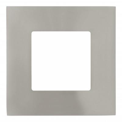 Eglo FUEVA 1 94735 Встраиваемые и накладные светильникиКвадратные LED<br>Встраиваемые светильники – популярное осветительное оборудование, которое можно использовать в качестве основного источника или в дополнение к люстре. Они позволяют создать нужную атмосферу атмосферу и привнести в интерьер уют и комфорт.   Интернет-магазин «Светодом» предлагает стильный встраиваемый светильник Eglo 94735. Данная модель достаточно универсальна, поэтому подойдет практически под любой интерьер. Перед покупкой не забудьте ознакомиться с техническими параметрами, чтобы узнать тип цоколя, площадь освещения и другие важные характеристики.   Приобрести встраиваемый светильник Eglo 94735 в нашем онлайн-магазине Вы можете либо с помощью «Корзины», либо по контактным номерам. Мы развозим заказы по Москве, Екатеринбургу и остальным российским городам.<br><br>Цветовая t, К: 3000 (теплый белый)<br>Тип цоколя: LED<br>Ширина, мм: 85<br>Размеры основания, мм: 0<br>Диаметр врезного отверстия, мм: 25<br>Длина, мм: 85<br>Цвет арматуры: серебристый<br>Общая мощность, Вт: 3X2,7W