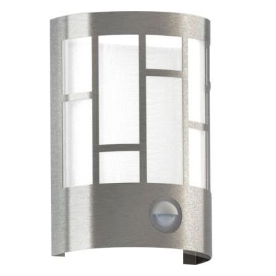 Eglo CERNO 94798 светильник уличныйНастенные<br>Обеспечение качественного уличного освещения – важная задача для владельцев коттеджей. Компания «Светодом» предлагает современные светильники, которые порадуют Вас отличным исполнением. В нашем каталоге представлена продукция известных производителей, пользующихся популярностью благодаря высокому качеству выпускаемых товаров.   Уличный светильник Eglo 94798 не просто обеспечит качественное освещение, но и станет украшением Вашего участка. Модель выполнена из современных материалов и имеет влагозащитный корпус, благодаря которому ей не страшны осадки.   Купить уличный светильник Eglo 94798, представленный в нашем каталоге, можно с помощью онлайн-формы для заказа. Чтобы задать имеющиеся вопросы, звоните нам по указанным телефонам.<br><br>Тип лампы: Накаливания / энергосбережения / светодиодная<br>Тип цоколя: E27<br>Цвет арматуры: серебристый<br>Длина, мм: 135<br>Расстояние от стены, мм: 105<br>Высота, мм: 200<br>Оттенок (цвет): белый<br>MAX мощность ламп, Вт: 40
