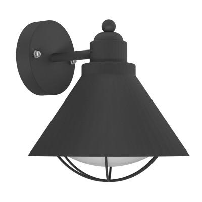 Eglo BARROSELA 94805 светильник уличныйНастенные<br>Обеспечение качественного уличного освещения – важная задача для владельцев коттеджей. Компания «Светодом» предлагает современные светильники, которые порадуют Вас отличным исполнением. В нашем каталоге представлена продукция известных производителей, пользующихся популярностью благодаря высокому качеству выпускаемых товаров.   Уличный светильник Eglo 94805 не просто обеспечит качественное освещение, но и станет украшением Вашего участка. Модель выполнена из современных материалов и имеет влагозащитный корпус, благодаря которому ей не страшны осадки.   Купить уличный светильник Eglo 94805, представленный в нашем каталоге, можно с помощью онлайн-формы для заказа. Чтобы задать имеющиеся вопросы, звоните нам по указанным телефонам.<br><br>Тип лампы: Накаливания / энергосбережения / светодиодная<br>Тип цоколя: E27<br>MAX мощность ламп, Вт: 40<br>Длина, мм: 220<br>Расстояние от стены, мм: 230<br>Высота, мм: 240<br>Оттенок (цвет): белый<br>Цвет арматуры: черный<br>Общая мощность, Вт: 2