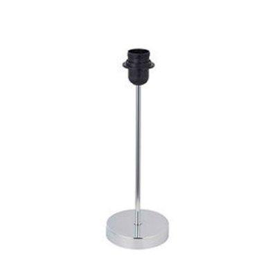 Настольная лампа Brilliant 94833/15 Brilliant 9483Современные<br><br><br>Тип цоколя: E27<br>Диаметр, мм мм: 80<br>Высота, мм: 350<br>Цвет арматуры: серебристый хром