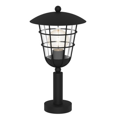 Eglo PULFERO 94835 светильник уличныйФонари на столб<br>Обеспечение качественного уличного освещения – важная задача для владельцев коттеджей. Компания «Светодом» предлагает современные светильники, которые порадуют Вас отличным исполнением. В нашем каталоге представлена продукция известных производителей, пользующихся популярностью благодаря высокому качеству выпускаемых товаров.   Уличный светильник Eglo 94835 не просто обеспечит качественное освещение, но и станет украшением Вашего участка. Модель выполнена из современных материалов и имеет влагозащитный корпус, благодаря которому ей не страшны осадки.   Купить уличный светильник Eglo 94835, представленный в нашем каталоге, можно с помощью онлайн-формы для заказа. Чтобы задать имеющиеся вопросы, звоните нам по указанным телефонам.<br><br>Тип лампы: Накаливания / энергосбережения / светодиодная<br>Тип цоколя: E27<br>MAX мощность ламп, Вт: 60<br>Диаметр, мм мм: 220<br>Размеры основания, мм: 110<br>Высота, мм: 415<br>Оттенок (цвет): прозрачный<br>Цвет арматуры: черный<br>Общая мощность, Вт: 2