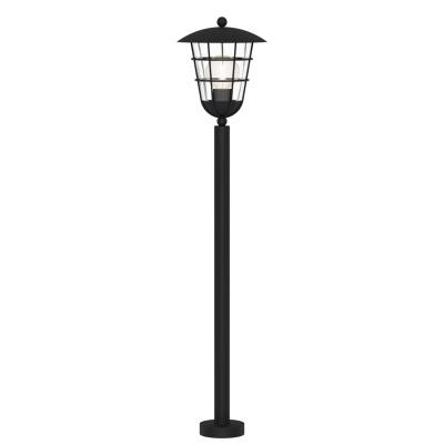 Eglo PULFERO 94836 светильник уличныйОдиночные столбы<br>Обеспечение качественного уличного освещения – важная задача для владельцев коттеджей. Компания «Светодом» предлагает современные светильники, которые порадуют Вас отличным исполнением. В нашем каталоге представлена продукция известных производителей, пользующихся популярностью благодаря высокому качеству выпускаемых товаров.   Уличный светильник Eglo 94836 не просто обеспечит качественное освещение, но и станет украшением Вашего участка. Модель выполнена из современных материалов и имеет влагозащитный корпус, благодаря которому ей не страшны осадки.   Купить уличный светильник Eglo 94836, представленный в нашем каталоге, можно с помощью онлайн-формы для заказа. Чтобы задать имеющиеся вопросы, звоните нам по указанным телефонам.<br><br>Тип лампы: Накаливания / энергосбережения / светодиодная<br>Тип цоколя: E27<br>MAX мощность ламп, Вт: 60<br>Диаметр, мм мм: 220<br>Размеры основания, мм: 110<br>Высота, мм: 1020<br>Оттенок (цвет): прозрачный<br>Цвет арматуры: черный<br>Общая мощность, Вт: 2