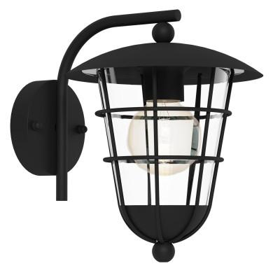 Eglo PULFERO 94841 светильник уличныйНастенные<br>Обеспечение качественного уличного освещения – важная задача для владельцев коттеджей. Компания «Светодом» предлагает современные светильники, которые порадуют Вас отличным исполнением. В нашем каталоге представлена продукция известных производителей, пользующихся популярностью благодаря высокому качеству выпускаемых товаров.   Уличный светильник Eglo 94841 не просто обеспечит качественное освещение, но и станет украшением Вашего участка. Модель выполнена из современных материалов и имеет влагозащитный корпус, благодаря которому ей не страшны осадки.   Купить уличный светильник Eglo 94841, представленный в нашем каталоге, можно с помощью онлайн-формы для заказа. Чтобы задать имеющиеся вопросы, звоните нам по указанным телефонам.<br><br>Тип лампы: Накаливания / энергосбережения / светодиодная<br>Тип цоколя: E27<br>MAX мощность ламп, Вт: 60<br>Длина, мм: 220<br>Расстояние от стены, мм: 280<br>Высота, мм: 280<br>Оттенок (цвет): прозрачный<br>Цвет арматуры: черный<br>Общая мощность, Вт: 2