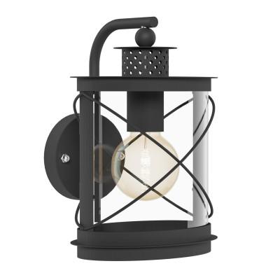 Eglo HILBURN 94843 светильник уличныйНастенные<br>Обеспечение качественного уличного освещения – важная задача для владельцев коттеджей. Компания «Светодом» предлагает современные светильники, которые порадуют Вас отличным исполнением. В нашем каталоге представлена продукция известных производителей, пользующихся популярностью благодаря высокому качеству выпускаемых товаров. <br> Уличный светильник Eglo 94843 не просто обеспечит качественное освещение, но и станет украшением Вашего участка. Модель выполнена из современных материалов и имеет влагозащитный корпус, благодаря которому ей не страшны осадки. <br> Купить уличный светильник Eglo 94843, представленный в нашем каталоге, можно с помощью онлайн-формы для заказа. Чтобы задать имеющиеся вопросы, звоните нам по указанным телефонам.<br><br>Тип лампы: Накаливания / энергосбережения / светодиодная<br>Тип цоколя: E27<br>Цвет арматуры: черный<br>Длина, мм: 200<br>Расстояние от стены, мм: 200<br>Высота, мм: 280<br>Оттенок (цвет): прозрачный<br>MAX мощность ламп, Вт: 60<br>Общая мощность, Вт: 2