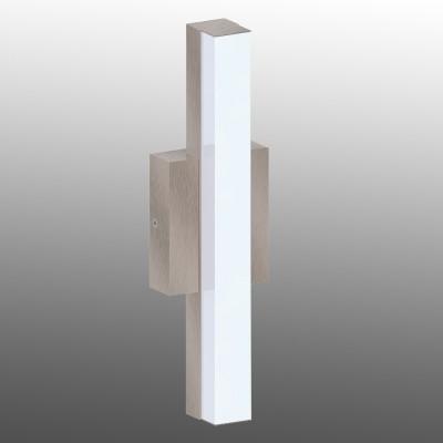Eglo ACATE 94845 светильник уличныйНастенные<br>Обеспечение качественного уличного освещения – важная задача для владельцев коттеджей. Компания «Светодом» предлагает современные светильники, которые порадуют Вас отличным исполнением. В нашем каталоге представлена продукция известных производителей, пользующихся популярностью благодаря высокому качеству выпускаемых товаров.   Уличный светильник Eglo 94845 не просто обеспечит качественное освещение, но и станет украшением Вашего участка. Модель выполнена из современных материалов и имеет влагозащитный корпус, благодаря которому ей не страшны осадки.   Купить уличный светильник Eglo 94845, представленный в нашем каталоге, можно с помощью онлайн-формы для заказа. Чтобы задать имеющиеся вопросы, звоните нам по указанным телефонам.<br><br>Цветовая t, К: 3000 (теплый белый)<br>Тип лампы: LED<br>Тип цоколя: LED<br>MAX мощность ламп, Вт: 8<br>Длина, мм: 100<br>Расстояние от стены, мм: 60<br>Высота, мм: 350<br>Оттенок (цвет): белый<br>Цвет арматуры: серебристый<br>Общая мощность, Вт: 29