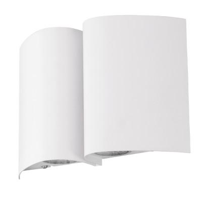 Eglo SUESA 94846 Уличный светодиодный настенный светильникНастенные<br>Обеспечение качественного уличного освещения – важная задача для владельцев коттеджей. Компания «Светодом» предлагает современные светильники, которые порадуют Вас отличным исполнением. В нашем каталоге представлена продукция известных производителей, пользующихся популярностью благодаря высокому качеству выпускаемых товаров.   Уличный светильник Eglo 94846 не просто обеспечит качественное освещение, но и станет украшением Вашего участка. Модель выполнена из современных материалов и имеет влагозащитный корпус, благодаря которому ей не страшны осадки.   Купить уличный светильник Eglo 94846, представленный в нашем каталоге, можно с помощью онлайн-формы для заказа. Чтобы задать имеющиеся вопросы, звоните нам по указанным телефонам. Мы доставим Ваш заказ не только в Москву и Екатеринбург, но и другие города.<br><br>Цветовая t, К: 3000<br>Тип цоколя: LED - светодиодная<br>Ширина, мм: 180<br>MAX мощность ламп, Вт: 4X2,5W<br>Глубина, мм: 75<br>Длина, мм: 265<br>Цвет арматуры: белый
