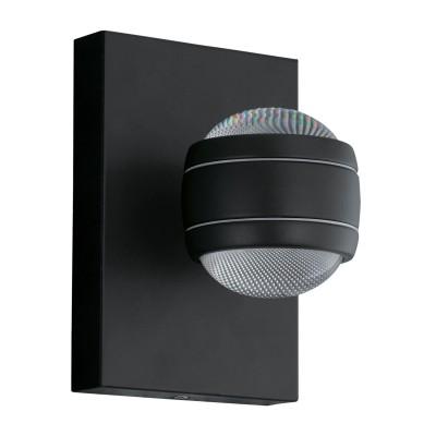 Eglo SESIMBA 94848 светильник уличныйНастенные<br>Обеспечение качественного уличного освещения – важная задача для владельцев коттеджей. Компания «Светодом» предлагает современные светильники, которые порадуют Вас отличным исполнением. В нашем каталоге представлена продукция известных производителей, пользующихся популярностью благодаря высокому качеству выпускаемых товаров.   Уличный светильник Eglo 94848 не просто обеспечит качественное освещение, но и станет украшением Вашего участка. Модель выполнена из современных материалов и имеет влагозащитный корпус, благодаря которому ей не страшны осадки.   Купить уличный светильник Eglo 94848, представленный в нашем каталоге, можно с помощью онлайн-формы для заказа. Чтобы задать имеющиеся вопросы, звоните нам по указанным телефонам.<br><br>Цветовая t, К: 3000 (теплый белый)<br>Тип лампы: LED<br>Тип цоколя: LED-MODUL<br>MAX мощность ламп, Вт: 2X3,7<br>Длина, мм: 130<br>Расстояние от стены, мм: 140<br>Высота, мм: 195<br>Оттенок (цвет): прозрачный<br>Цвет арматуры: черный<br>Общая мощность, Вт: 1