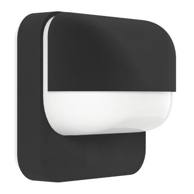Eglo TRABADA 94852 светильник уличныйНастенные<br><br><br>Тип товара: светильник уличный<br>Тип лампы: Накаливания / энергосбережения / светодиодная<br>Тип цоколя: E27<br>MAX мощность ламп, Вт: 40<br>Длина, мм: 160<br>Расстояние от стены, мм: 115<br>Высота, мм: 190<br>Оттенок (цвет): белый<br>Цвет арматуры: черный<br>Общая мощность, Вт: 2