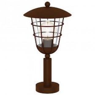 Eglo PULFERO 1 94856 светильник уличныйФонари на столб<br>Обеспечение качественного уличного освещения – важная задача для владельцев коттеджей. Компания «Светодом» предлагает современные светильники, которые порадуют Вас отличным исполнением. В нашем каталоге представлена продукция известных производителей, пользующихся популярностью благодаря высокому качеству выпускаемых товаров.   Уличный светильник Eglo 94856 не просто обеспечит качественное освещение, но и станет украшением Вашего участка. Модель выполнена из современных материалов и имеет влагозащитный корпус, благодаря которому ей не страшны осадки.   Купить уличный светильник Eglo 94856, представленный в нашем каталоге, можно с помощью онлайн-формы для заказа. Чтобы задать имеющиеся вопросы, звоните нам по указанным телефонам.<br><br>Тип лампы: Накаливания / энергосбережения / светодиодная<br>Тип цоколя: E27<br>MAX мощность ламп, Вт: 1X60W<br>Диаметр, мм мм: 220<br>Размеры основания, мм: 110<br>Высота, мм: 415<br>Оттенок (цвет): прозрачный<br>Цвет арматуры: коричневый<br>Общая мощность, Вт: 2