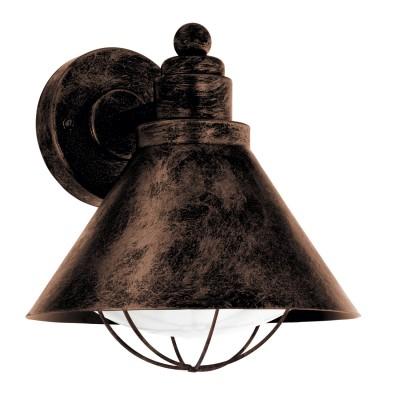Eglo BARROSELA 94858 светильник уличныйНастенные<br>Обеспечение качественного уличного освещения – важная задача для владельцев коттеджей. Компания «Светодом» предлагает современные светильники, которые порадуют Вас отличным исполнением. В нашем каталоге представлена продукция известных производителей, пользующихся популярностью благодаря высокому качеству выпускаемых товаров.   Уличный светильник Eglo 94858 не просто обеспечит качественное освещение, но и станет украшением Вашего участка. Модель выполнена из современных материалов и имеет влагозащитный корпус, благодаря которому ей не страшны осадки.   Купить уличный светильник Eglo 94858, представленный в нашем каталоге, можно с помощью онлайн-формы для заказа. Чтобы задать имеющиеся вопросы, звоните нам по указанным телефонам.<br><br>Тип лампы: Накаливания / энергосбережения / светодиодная<br>Тип цоколя: E27<br>MAX мощность ламп, Вт: 40<br>Длина, мм: 220<br>Расстояние от стены, мм: 230<br>Высота, мм: 240<br>Оттенок (цвет): белый<br>Цвет арматуры: медный<br>Общая мощность, Вт: 2
