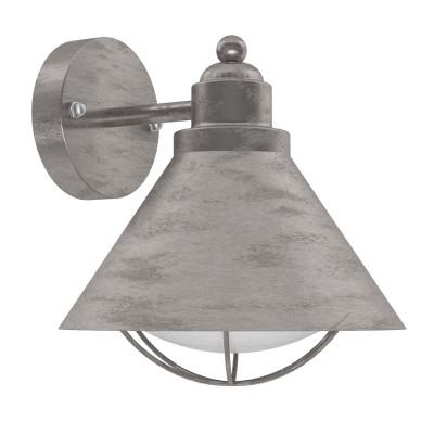 Eglo BARROSELA 94859 светильник уличныйНастенные<br>Обеспечение качественного уличного освещения – важная задача для владельцев коттеджей. Компания «Светодом» предлагает современные светильники, которые порадуют Вас отличным исполнением. В нашем каталоге представлена продукция известных производителей, пользующихся популярностью благодаря высокому качеству выпускаемых товаров.   Уличный светильник Eglo 94859 не просто обеспечит качественное освещение, но и станет украшением Вашего участка. Модель выполнена из современных материалов и имеет влагозащитный корпус, благодаря которому ей не страшны осадки.   Купить уличный светильник Eglo 94859, представленный в нашем каталоге, можно с помощью онлайн-формы для заказа. Чтобы задать имеющиеся вопросы, звоните нам по указанным телефонам.<br><br>Тип лампы: Накаливания / энергосбережения / светодиодная<br>Тип цоколя: E27<br>MAX мощность ламп, Вт: 40<br>Длина, мм: 220<br>Расстояние от стены, мм: 230<br>Высота, мм: 240<br>Оттенок (цвет): белый<br>Цвет арматуры: серебристый<br>Общая мощность, Вт: 2