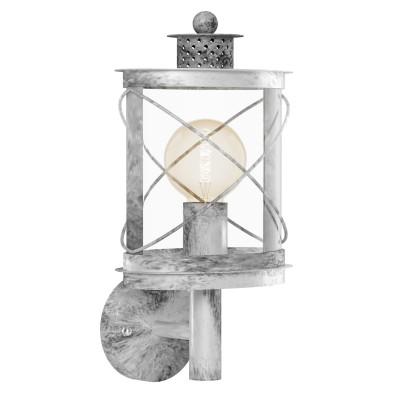 Eglo HILBURN 1 94865 светильник уличныйНастенные<br>Обеспечение качественного уличного освещения – важная задача для владельцев коттеджей. Компания «Светодом» предлагает современные светильники, которые порадуют Вас отличным исполнением. В нашем каталоге представлена продукция известных производителей, пользующихся популярностью благодаря высокому качеству выпускаемых товаров.   Уличный светильник Eglo 94865 не просто обеспечит качественное освещение, но и станет украшением Вашего участка. Модель выполнена из современных материалов и имеет влагозащитный корпус, благодаря которому ей не страшны осадки.   Купить уличный светильник Eglo 94865, представленный в нашем каталоге, можно с помощью онлайн-формы для заказа. Чтобы задать имеющиеся вопросы, звоните нам по указанным телефонам.<br><br>Тип лампы: Накаливания / энергосбережения / светодиодная<br>Тип цоколя: E27<br>MAX мощность ламп, Вт: 60<br>Длина, мм: 200<br>Расстояние от стены, мм: 170<br>Высота, мм: 375<br>Оттенок (цвет): прозрачный<br>Цвет арматуры: серебристый<br>Общая мощность, Вт: 2