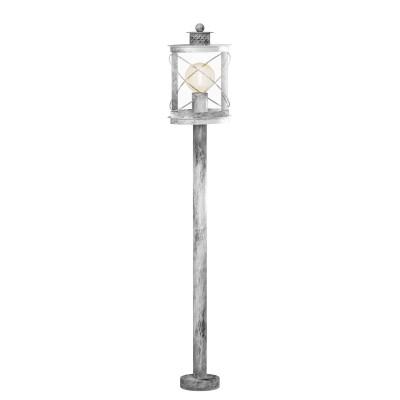 Eglo HILBURN 1 94868 светильник уличныйОдиночные столбы<br>Обеспечение качественного уличного освещения – важная задача для владельцев коттеджей. Компания «Светодом» предлагает современные светильники, которые порадуют Вас отличным исполнением. В нашем каталоге представлена продукция известных производителей, пользующихся популярностью благодаря высокому качеству выпускаемых товаров.   Уличный светильник Eglo 94868 не просто обеспечит качественное освещение, но и станет украшением Вашего участка. Модель выполнена из современных материалов и имеет влагозащитный корпус, благодаря которому ей не страшны осадки.   Купить уличный светильник Eglo 94868, представленный в нашем каталоге, можно с помощью онлайн-формы для заказа. Чтобы задать имеющиеся вопросы, звоните нам по указанным телефонам.<br><br>Тип лампы: Накаливания / энергосбережения / светодиодная<br>Тип цоколя: E27<br>Ширина, мм: 135<br>MAX мощность ламп, Вт: 60<br>Длина, мм: 200<br>Высота, мм: 1030<br>Оттенок (цвет): прозрачный<br>Цвет арматуры: серебристый<br>Общая мощность, Вт: 2