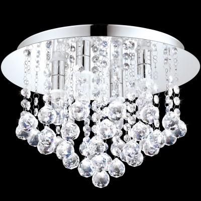 Eglo ALMONTE 94878 Светильник для ванной комнатыПотолочные<br>Светодиодный потолочный светильник ALMONTE, 4x2,5W (G9), ?350, H230, IP44, сталь, хром/стекло, хрусталь применяется преимущественно в домашнем освещении с использованием стандартных выключателей и переключателей для сетей 220V.<br><br>Установка на натяжной потолок: Да<br>S освещ. до, м2: 5<br>Крепление: Планка<br>Тип лампы: LED - светодиодная<br>Тип цоколя: G9<br>Цвет арматуры: серебристый<br>Количество ламп: 4<br>Диаметр, мм мм: 350<br>Высота, мм: 230<br>MAX мощность ламп, Вт: 3