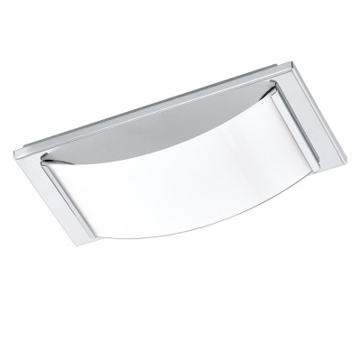 Eglo WASAO 1 94881 Светильник для ванной комнатыДля ванной<br>Светодиодный настенно-потолочный светильник WASAO 1, 1х5,4W (LED), 210х105, IP44, сталь, хром/стекло с покр., белый применяется преимущественно в домашнем освещении с использованием стандартных выключателей и переключателей для сетей 220V.<br><br>Цветовая t, К: 3000<br>Тип лампы: LED - светодиодная<br>Тип цоколя: LED<br>Цвет арматуры: серебристый хром<br>Количество ламп: 1<br>Глубина, мм: 60<br>Длина, мм: 105<br>Высота, мм: 210<br>MAX мощность ламп, Вт: 5