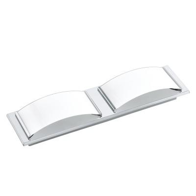 Eglo WASAO 1 94882 Светильник для ванной комнатыДля ванной<br>Светодиодный настенно-потолочный светильник WASAO 1, 2х5,4W (LED), 420х105, IP44, сталь, хром/стекло с покр., белый применяется преимущественно в домашнем освещении с использованием стандартных выключателей и переключателей для сетей 220V.<br><br>Цветовая t, К: 3000<br>Тип лампы: LED - светодиодная<br>Тип цоколя: LED<br>Количество ламп: 2<br>Ширина, мм: 105<br>MAX мощность ламп, Вт: 5<br>Длина, мм: 420<br>Высота, мм: 60<br>Цвет арматуры: серебристый хром