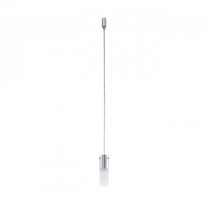 Светильник для трека Eglo VILLANOVA 94908Светильники для трека<br>Светодиодный трековая система VILLANOVA, 1х5W(GU10), ?60, сталь, хром/стекло, хром, матовый, прозрачный  применяется преимущественно в домашнем освещении с использованием стандартных выключателей и переключателей для сетей 220V.<br><br>Установка на натяжной потолок: да<br>S освещ. до, м2: 2<br>Крепление: к треку Eglo<br>Тип лампы: LED - светодиодная<br>Тип цоколя: GU10<br>Цвет арматуры: хром<br>Количество ламп: 1<br>Диаметр, мм мм: 60<br>Высота полная, мм: 1100<br>Высота, мм: 150<br>Оттенок (цвет): белый<br>MAX мощность ламп, Вт: 5