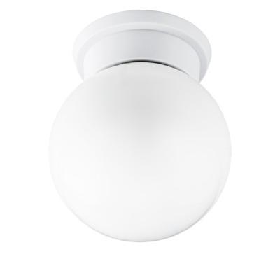 Eglo DURELO 94973 Настенно-потолочный светильникКруглые<br>Потолочный светильник DURELO, 1х28W (E27), ?160, H195, пластик, белый/ стекло, белый применяется преимущественно в домашнем освещении с использованием стандартных выключателей и переключателей для сетей 220V.<br><br>S освещ. до, м2: 7<br>Тип цоколя: E27<br>Цвет арматуры: белый<br>Количество ламп: 1<br>Диаметр, мм мм: 160<br>Высота, мм: 195<br>MAX мощность ламп, Вт: 28