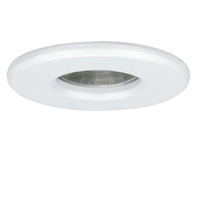 Eglo IGOA 94974 Светильник для ванной комнатыКруглые<br>Светодиодный встраиваемый светильник IGOA, 1x3,3W (GU10), ?85, IP44, литой металл, белый  применяется преимущественно в домашнем освещении с использованием стандартных выключателей и переключателей для сетей 220V.<br><br>Тип лампы: LED - светодиодная<br>Тип цоколя: GU10<br>Количество ламп: 1<br>MAX мощность ламп, Вт: 3<br>Диаметр, мм мм: 85<br>Цвет арматуры: белый