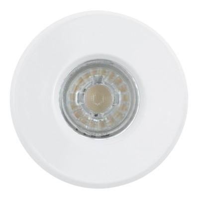 Eglo IGOA 94977 Светильник для ванной комнатыбра для ванной<br>Комплект Светодиодный встраив. светильников IGOA, 3x3,3W (GU10), ?85, IP44, литой металл, белый применяется преимущественно в домашнем освещении с использованием стандартных выключателей и переключателей для сетей 220V.<br><br>Тип лампы: LED - светодиодная<br>Тип цоколя: GU10<br>Цвет арматуры: белый<br>Количество ламп: 3<br>Диаметр, мм мм: 85<br>MAX мощность ламп, Вт: 3