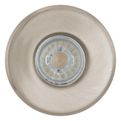 Eglo IGOA 94979 Светильник для ванной комнатыКруглые LED<br>Комплект Светодиодный встраив. светильников IGOA, 3x3,3W (GU10), ?85, IP44, литой металл, никель матовый применяется преимущественно в домашнем освещении с использованием стандартных выключателей и переключателей для сетей 220V.<br><br>Тип лампы: LED - светодиодная<br>Тип цоколя: GU10<br>Количество ламп: 3<br>MAX мощность ламп, Вт: 3<br>Диаметр, мм мм: 85<br>Цвет арматуры: серебристый