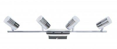 Светильник спот Lamplandia 9499 AbsolutС 4 лампами<br>Светильники-споты – это оригинальные изделия с современным дизайном. Они позволяют не ограничивать свою фантазию при выборе освещения для интерьера. Такие модели обеспечивают достаточно качественный свет. Благодаря компактным размерам Вы можете использовать несколько спотов для одного помещения. <br>Интернет-магазин «Светодом» предлагает необычный светильник-спот Lamplandia 9499 Absolut по привлекательной цене. Эта модель станет отличным дополнением к люстре, выполненной в том же стиле. Перед оформлением заказа изучите характеристики изделия. <br>Купить светильник-спот Lamplandia 9499 Absolut в нашем онлайн-магазине Вы можете либо с помощью формы на сайте, либо по указанным выше телефонам. Обратите внимание, что у нас склады не только в Москве и Екатеринбурге, но и других городах России.<br><br>S освещ. до, м2: 10<br>Крепление: потолочный<br>Тип лампы: галогенная / LED-светодиодная<br>Тип цоколя: G9<br>Цвет арматуры: серый<br>Количество ламп: 4<br>Ширина, мм: 160<br>Длина, мм: 700<br>Высота, мм: 80<br>MAX мощность ламп, Вт: 40