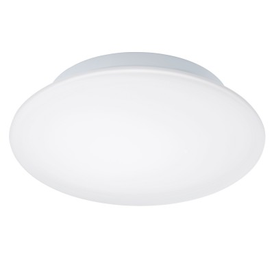 Eglo LED BARI 1 94997 Светильник для ванной комнатыКруглые<br>Светодиодный настенно-потолочный светильник LED BARI 1, 16W (LED), ?350, IP44, сталь, белый/опаловое стекло, белый применяется преимущественно в домашнем освещении с использованием стандартных выключателей и переключателей для сетей 220V.<br><br>S освещ. до, м2: 6<br>Цветовая t, К: 3000<br>Тип лампы: LED - светодиодная<br>Тип цоколя: LED<br>Цвет арматуры: белый<br>Количество ламп: 1<br>Диаметр, мм мм: 350<br>Глубина, мм: 110<br>MAX мощность ламп, Вт: 16