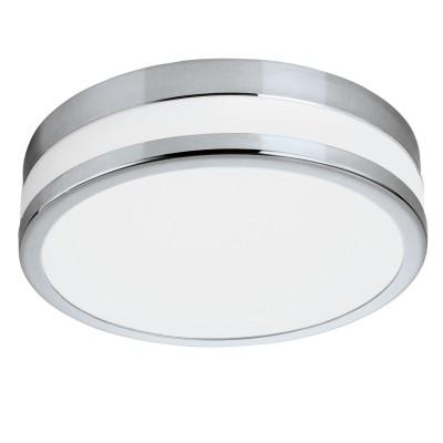 Eglo LED PALERMO 94998 Светильник для ванной комнатыКруглые<br>Светодиодный настенно-потолочный светильник LED PALERMO, 11W (LED), ?225, IP44, сталь, хром/сатиновое стекло, белое покрытие применяется преимущественно в домашнем освещении с использованием стандартных выключателей и переключателей для сетей 220V.<br><br>S освещ. до, м2: 4<br>Цветовая t, К: 3000<br>Тип лампы: LED - светодиодная<br>Тип цоколя: LED<br>Количество ламп: 1<br>MAX мощность ламп, Вт: 11<br>Диаметр, мм мм: 225<br>Глубина, мм: 60<br>Цвет арматуры: серебристый хром