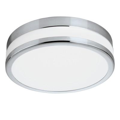 Eglo LED PALERMO 94999 Светильник для ванной комнатыКруглые<br>Светодиодный настенно-потолочный светильник LED PALERMO, 24W (LED), ?295, IP44, сталь, хром/сатиновое стекло, белое покрытие применяется преимущественно в домашнем освещении с использованием стандартных выключателей и переключателей для сетей 220V.<br><br>S освещ. до, м2: 10<br>Цветовая t, К: 3000<br>Тип лампы: LED - светодиодная<br>Тип цоколя: LED<br>Цвет арматуры: серебристый хром<br>Количество ламп: 1<br>Диаметр, мм мм: 295<br>Глубина, мм: 77<br>MAX мощность ламп, Вт: 24