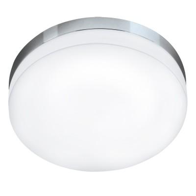 Eglo LED LORA 95001 Светильник для ванной комнатыДля ванной<br>Светодиодный потолочный светильник LED LORA, 16W (LED), ?320, IP54, сталь, хром/опаловое стекло, белый применяется преимущественно в домашнем освещении с использованием стандартных выключателей и переключателей для сетей 220V.<br><br>Цветовая t, К: 3000<br>Тип лампы: LED - светодиодная<br>Тип цоколя: LED<br>Цвет арматуры: серебристый хром<br>Количество ламп: 1<br>Диаметр, мм мм: 320<br>Глубина, мм: 70<br>MAX мощность ламп, Вт: 16